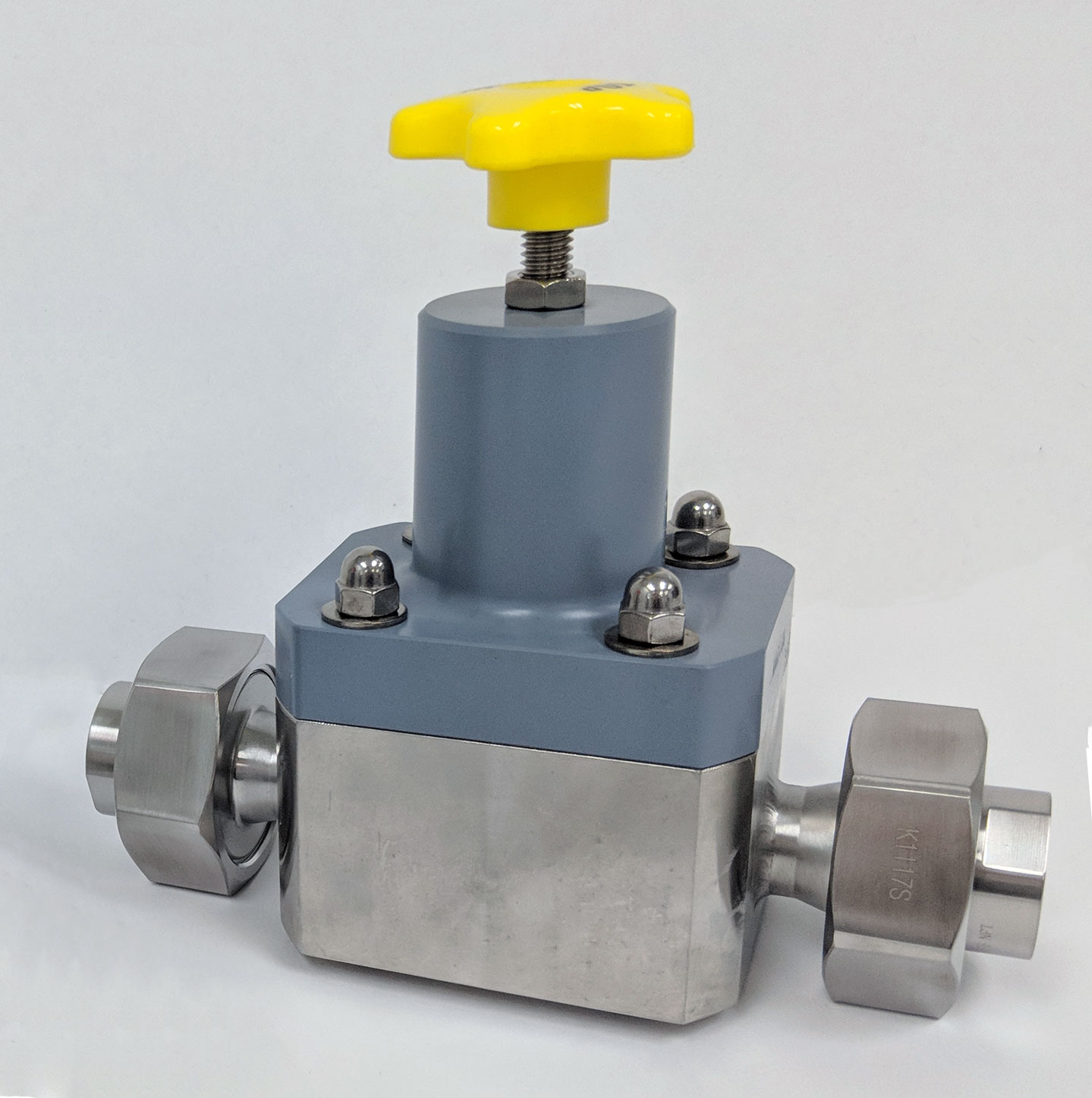 Top Valve Union Connection Valve in Stainless Steel