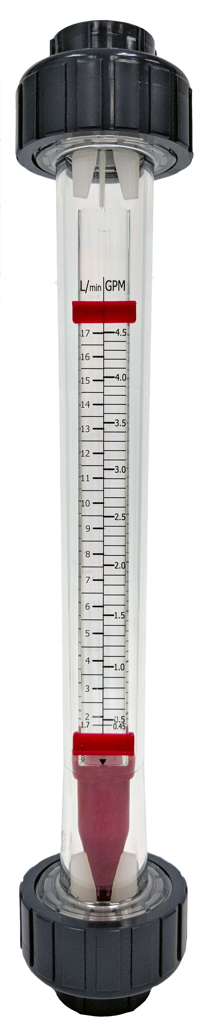 Rotameter with Polycarbonate Tube